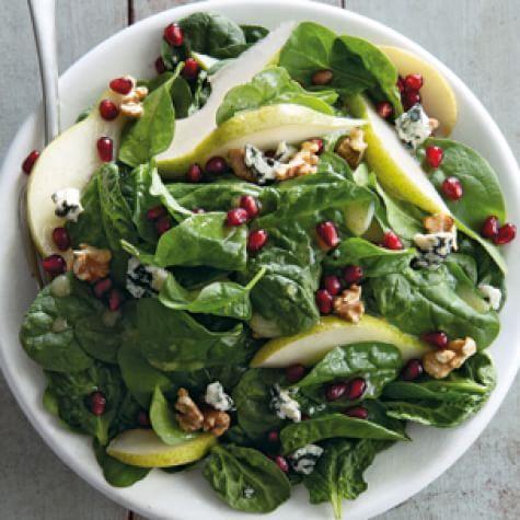 Spinach, Pear and Pomegranate Salad | Williams Sonoma