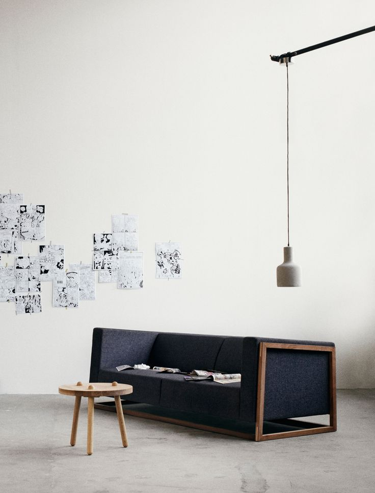 Sofa, Stool, Lamp, Interior design, wood