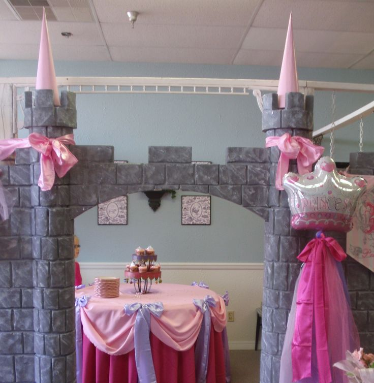 Princess tea party not sure how to make it but would be cute