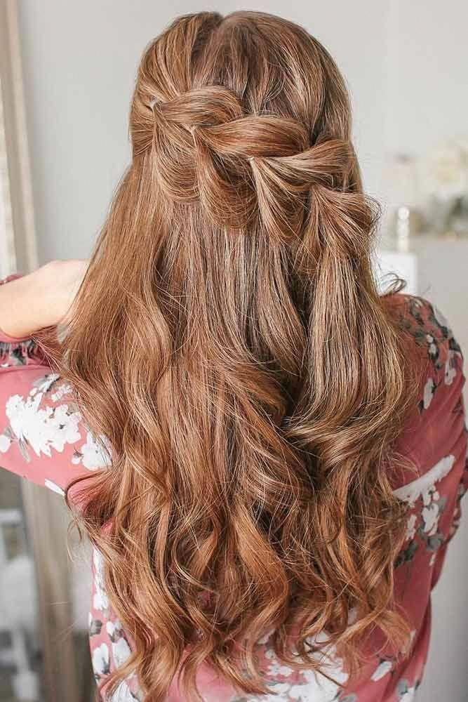 Easy Pull Through Braids For Long Hair ❤️ These easy hairstyles for long hai…