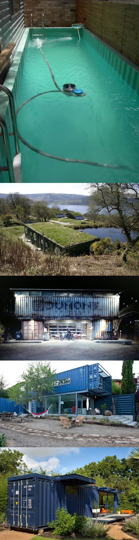 homes made from shipping containers...