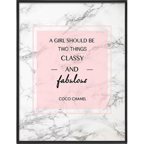 Coco Chanel quote art print- 63
