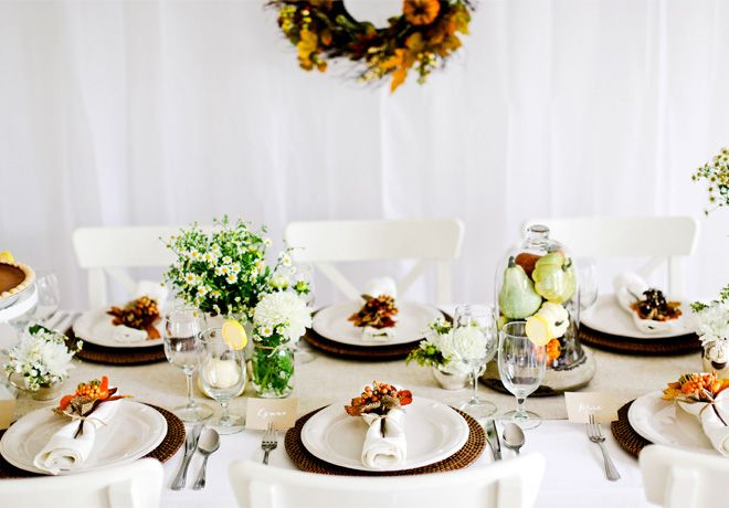 A Well-Dressed Thanksgiving Table #EviteGatherings