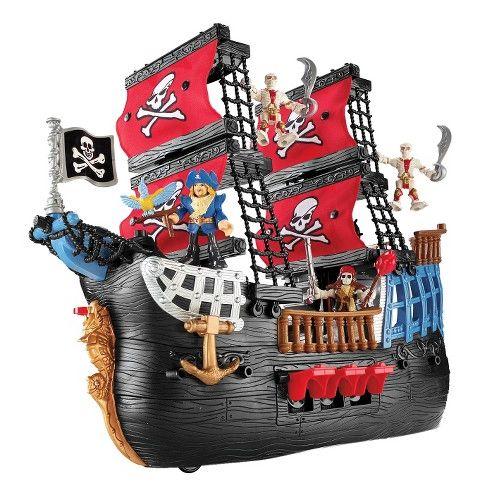 Fisher Price Imaginext Pirate Ship Playset