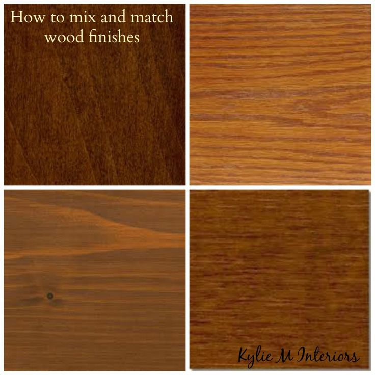 how to mix and match wood stains like oak, cherry, maple and espresso with regard to cabinets, flooring, furniture and more