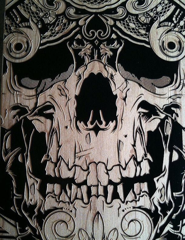 iPhone spooky skull wallpaper Halloween Cell Phone