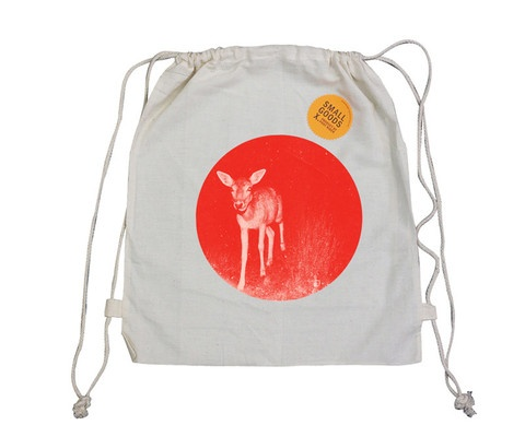 Pony Rider - Bambi Santa Sack - Flouro Orange
