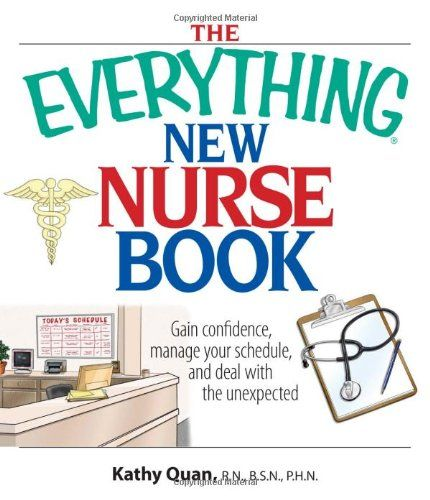 95 best nursing book reference images on pinterest nursing books the everything new nurse book gain confidence manage your schedule and deal with fandeluxe Choice Image