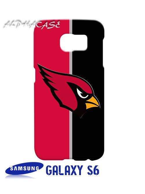 Arizona Cardinals Logo Samsung Galaxy S6 Case Hardshell