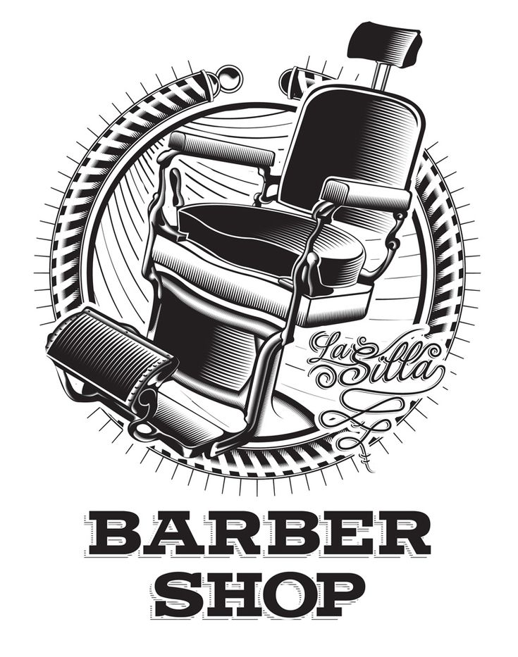 Vintage Barber Clipart barber vector -...