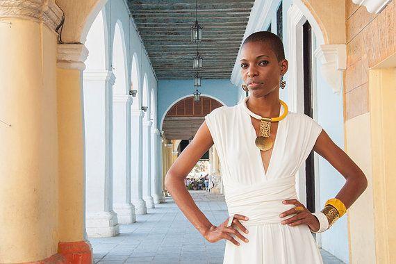 Nairobi Handmade African necklace african by havanaflamingo