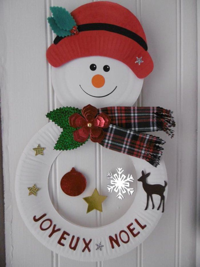 Best 25 bricolage noel ideas on pinterest noel xmas crafts and christmas tree crafts - Bonhomme de neige bricolage ...