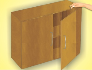 Pictures and Video showing you how to build cabinets. I am trying to build one for a nook.