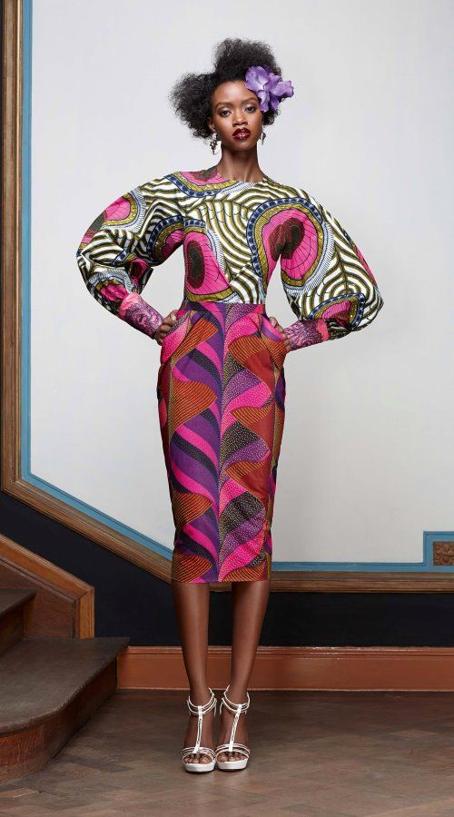 Vlisco Splendeur fabric 1