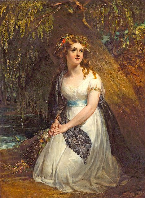 "John Wood (1801-1870), ""Ophelia"" by sofi01, via Flickr"