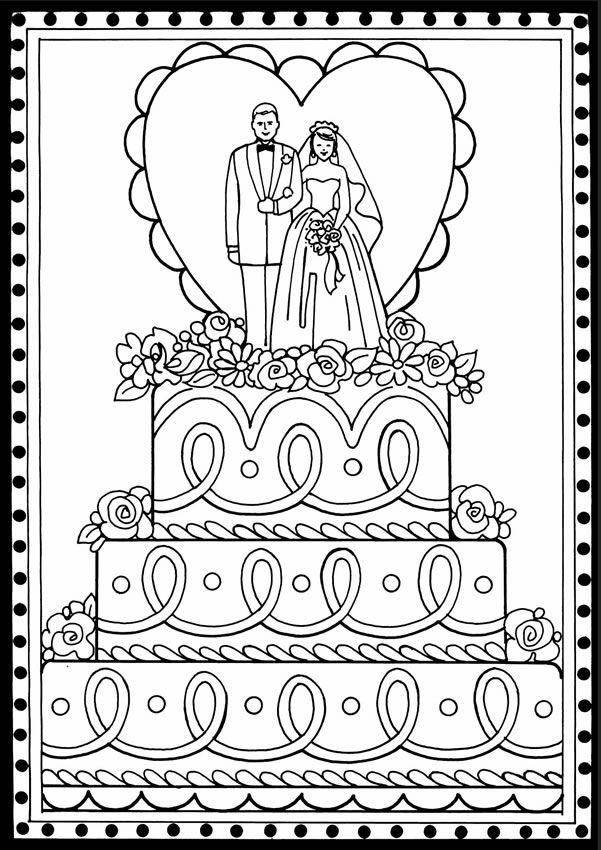 Fresh Bride Coloring Book