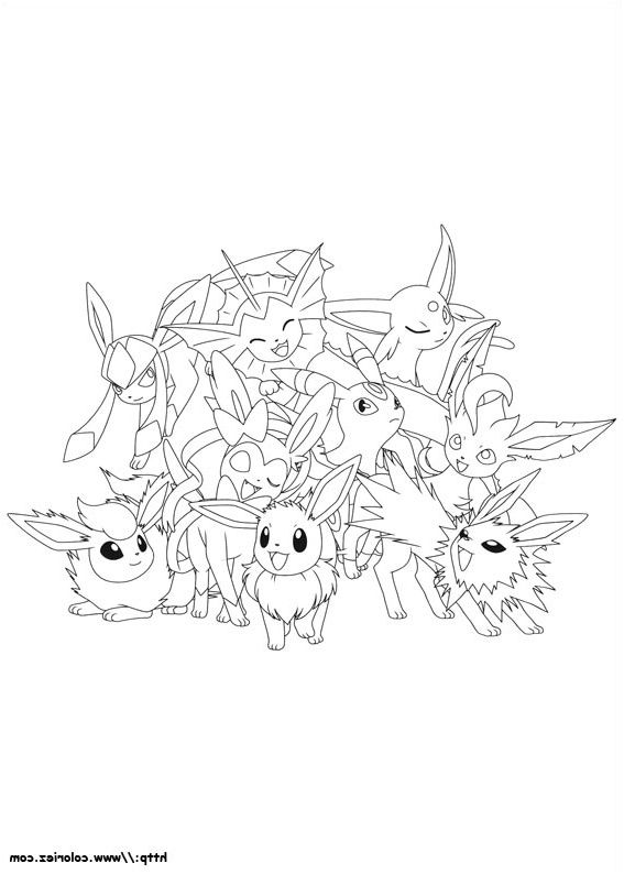 Coloriage Pokemon Evoli 13 Divers Coloriage Pokemon Evoli