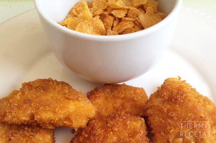 Receta básica: Corn Flakes para rebozar - http://www.thermorecetas.com/receta-basica-corn-flakes-para-rebozar/