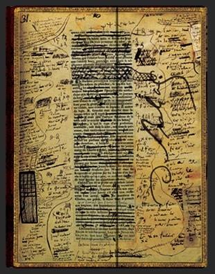 Записная книжка Paperblanks Оноре Бальзак, Евгения Гранде (Balzac Eugenie Grandet)