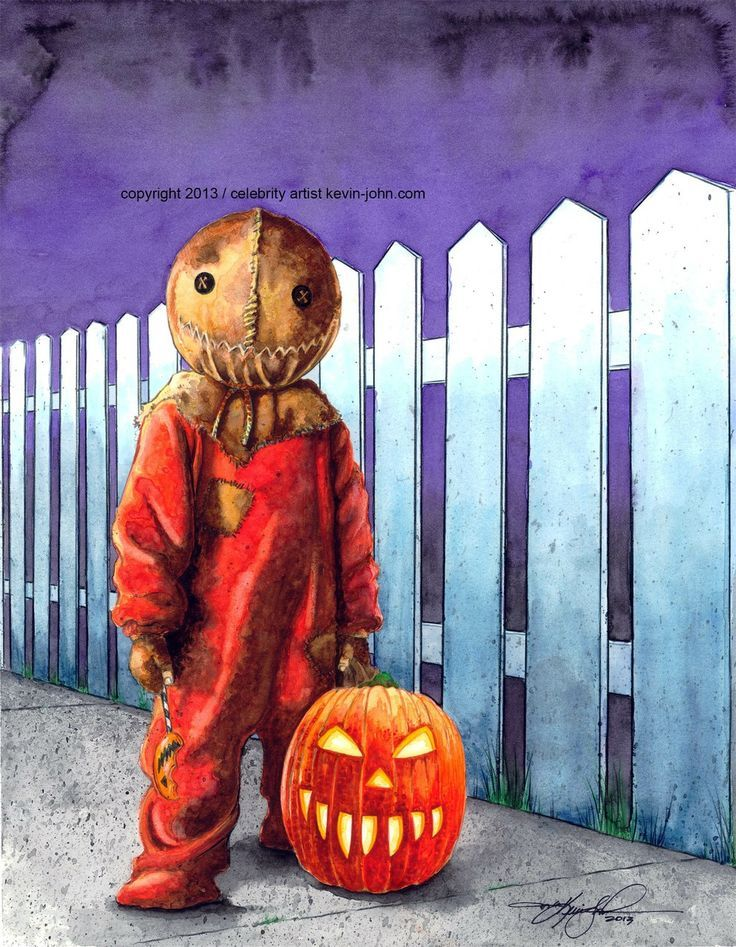 sam from trick r treat | SAM / TRICK R TREAT LITHOGRAPH via kevin-john studio. Click on the ...