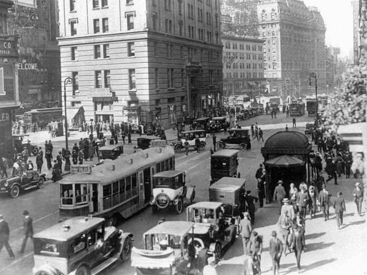 The Sounds Of New York City, Circa 1920