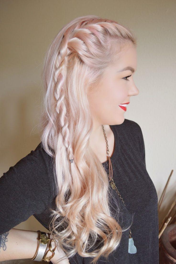 1000 Ides Sur Le Thme Lagertha Hair Sur Pinterest Tutoriels De