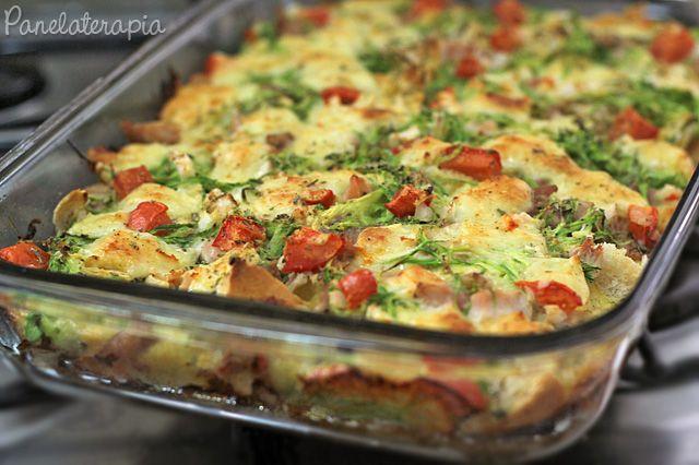 Torta Salgada de Pão Francês (pão de sal) ~ PANELATERAPIA - Blog de Culinária, Gastronomia e Receitas