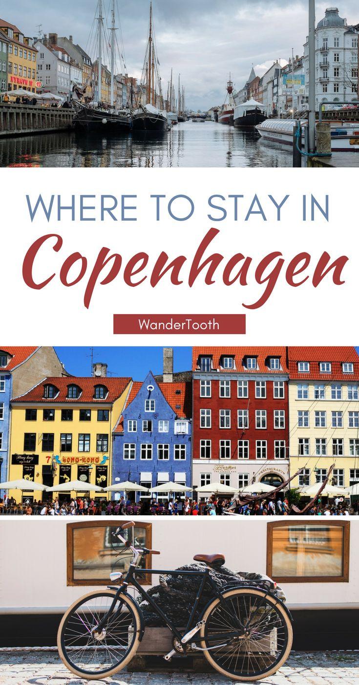 Where to stay in Copenhagen, Denmark. Copenhagen best neighborhoods and the best Copenhagen hotels for a trip you won't forget.   Copenhagen Travel Tips - @WanderTooth