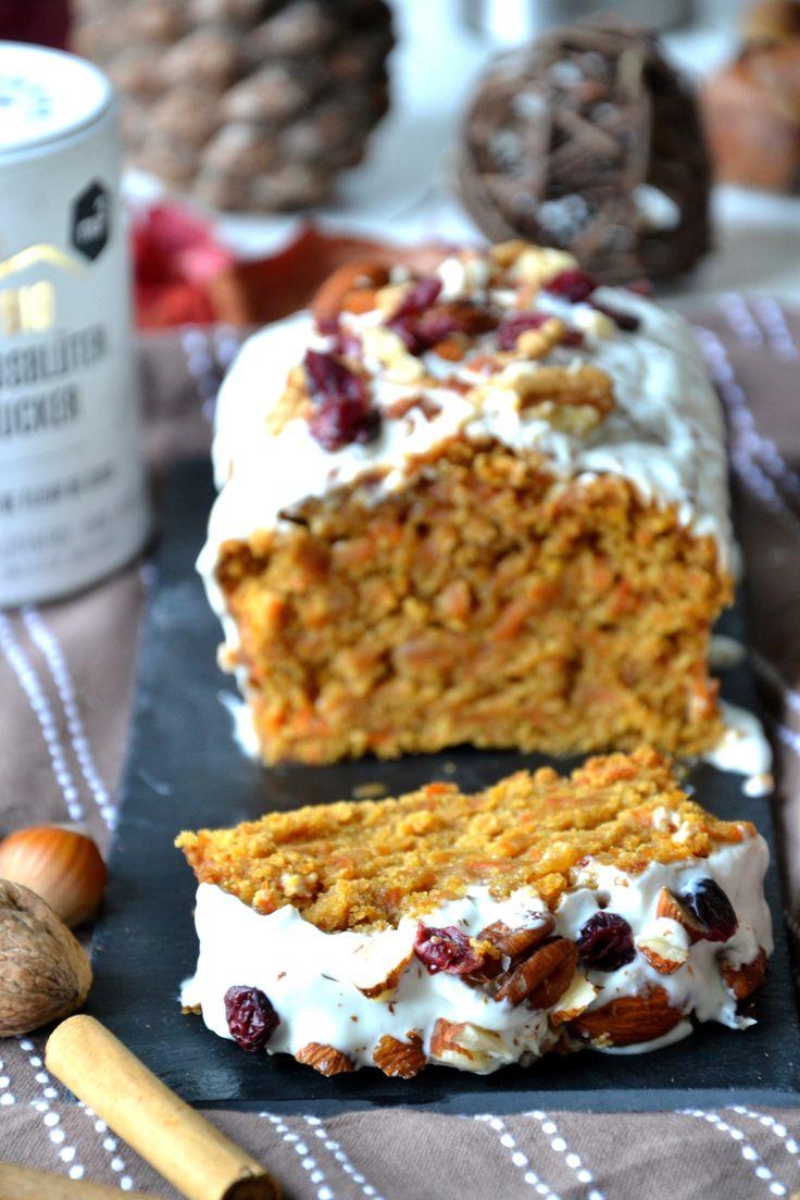 Carrot cake healthy, sans sucres ni matières grasses