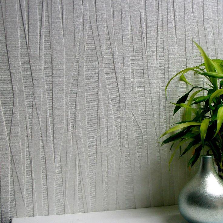 Brewster Folded Paper Paintable Textured Vinyl Wallpaper - 437-RD80028                                                                                                                                                      More
