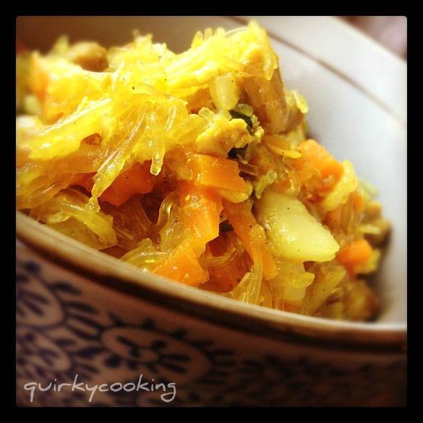 Quirky Cooking: Sue-Ellen's Singapore Noodles