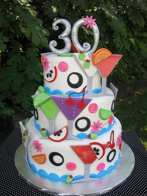 Martini cake...would be a cute 21st bday cake