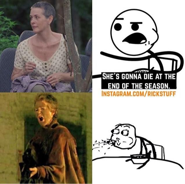 Season 5 memes for the walking dead