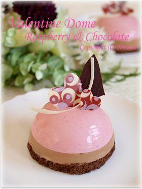 「【バレンタイン】フランボワーズムース♪」hitomi | お菓子・パンのレシピや作り方【corecle*コレクル】
