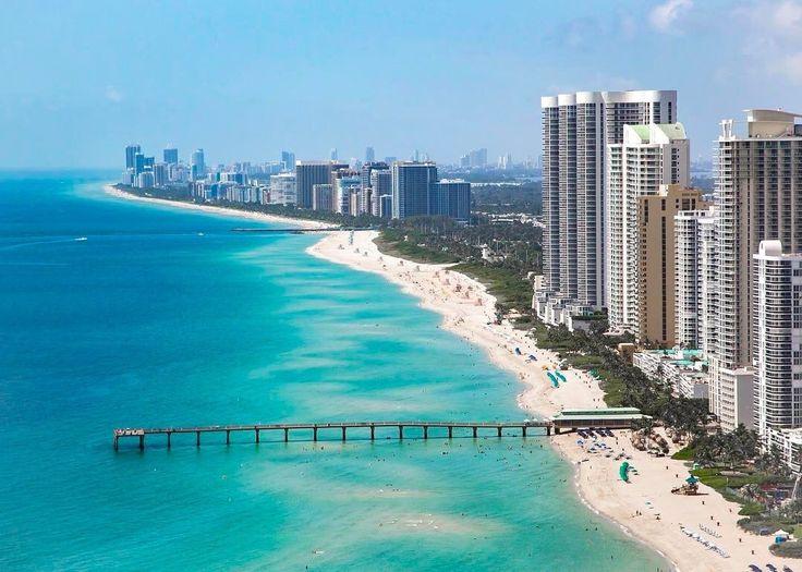 Sunny Isles Beach Florida by @southbeachhelicopters #miami #florida #miamibeach #sobe #southbeach #brickell #Miami