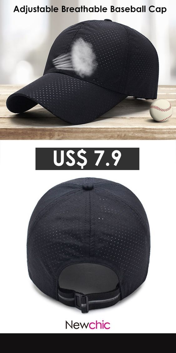 acab1b672 Summer Adjustable Breathable Mesh Hat Quick Dry Cap Outdoor Sports Climbing  Baseball Cap. #outdoor #mensfashion #caps