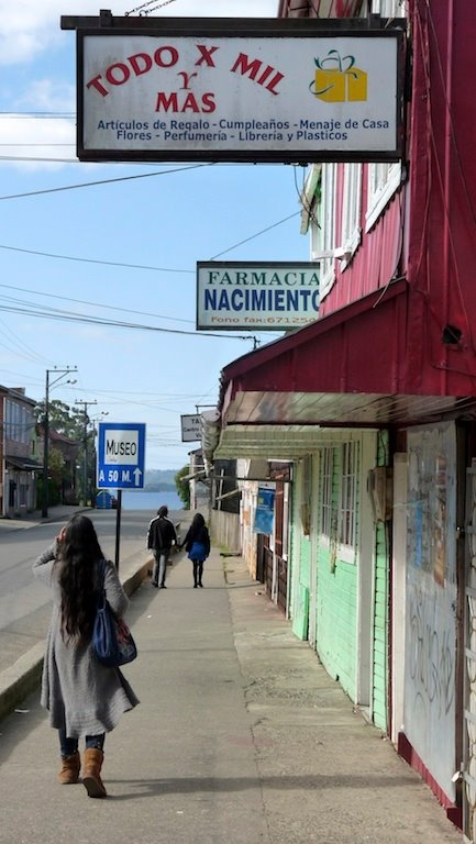 Island Chiloé, Chonchi, South Chile