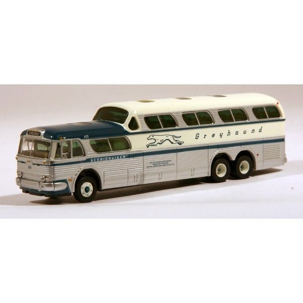 Awesome Diecast - CMW 1:87 GM 4501 SceniCruiser Motor Coach: Greyhound Chicago,  €19.72 (http://www.awesomediecast.com/cmw-1-87-gm-4501-scenicruiser-motor-coach-greyhound-chicago/)