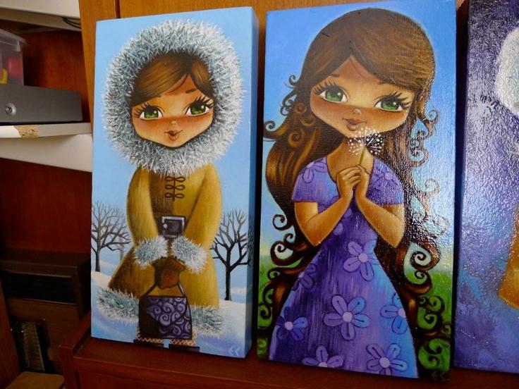 Winter Girl/Summer Girl by Eddy Crosby http://www.eddycrosby.com/