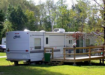 Northern Minnesota RV Camping At Aspen Resort Located On Pelican Lake In Orr