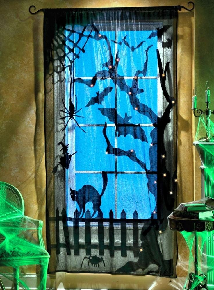 Amazing 15 indoor halloween decorations ideas to this for Cheap diy indoor halloween decorations