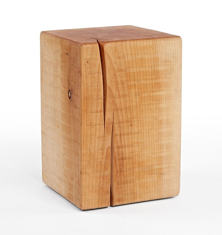 rejuvenation oregon maple stump side table