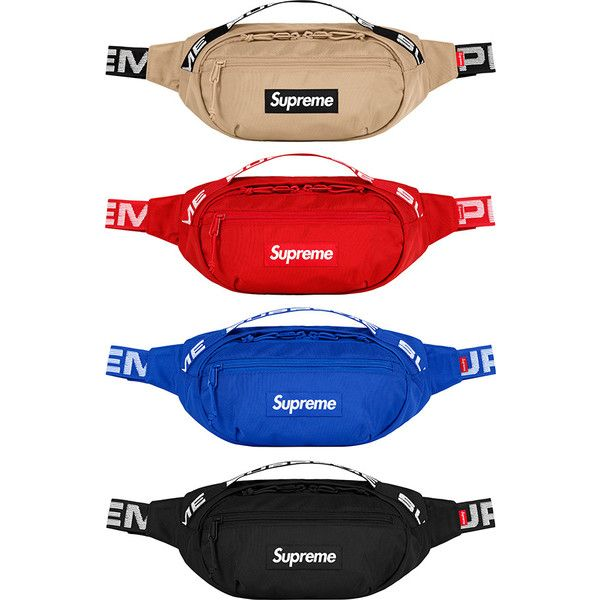 dc223b65f042 Supreme Waist Bag ❤ liked on Polyvore featuring bags
