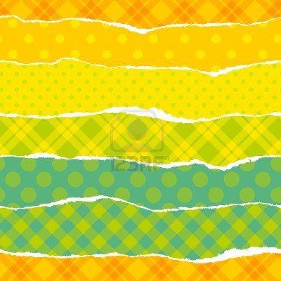 Envoltura rasgada patrón de papel transparente vector verde Foto de archivo - 12491334