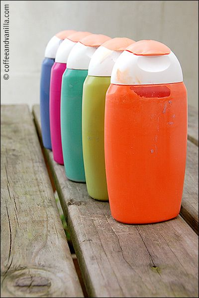 Pretty Paint Shades - Kids' Summer Crafts on a Budget