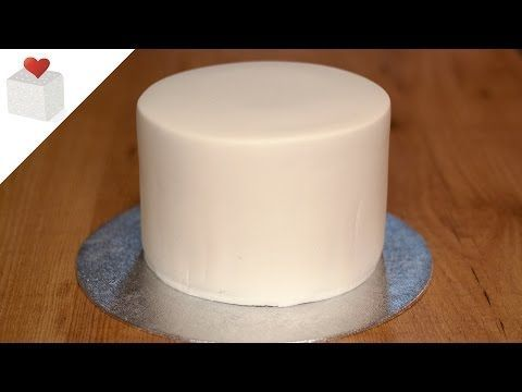 ¿Cómo hacer fondant de marshmallows para decorar pasteles?