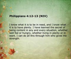 Philipians 4:12-13 - Google Search