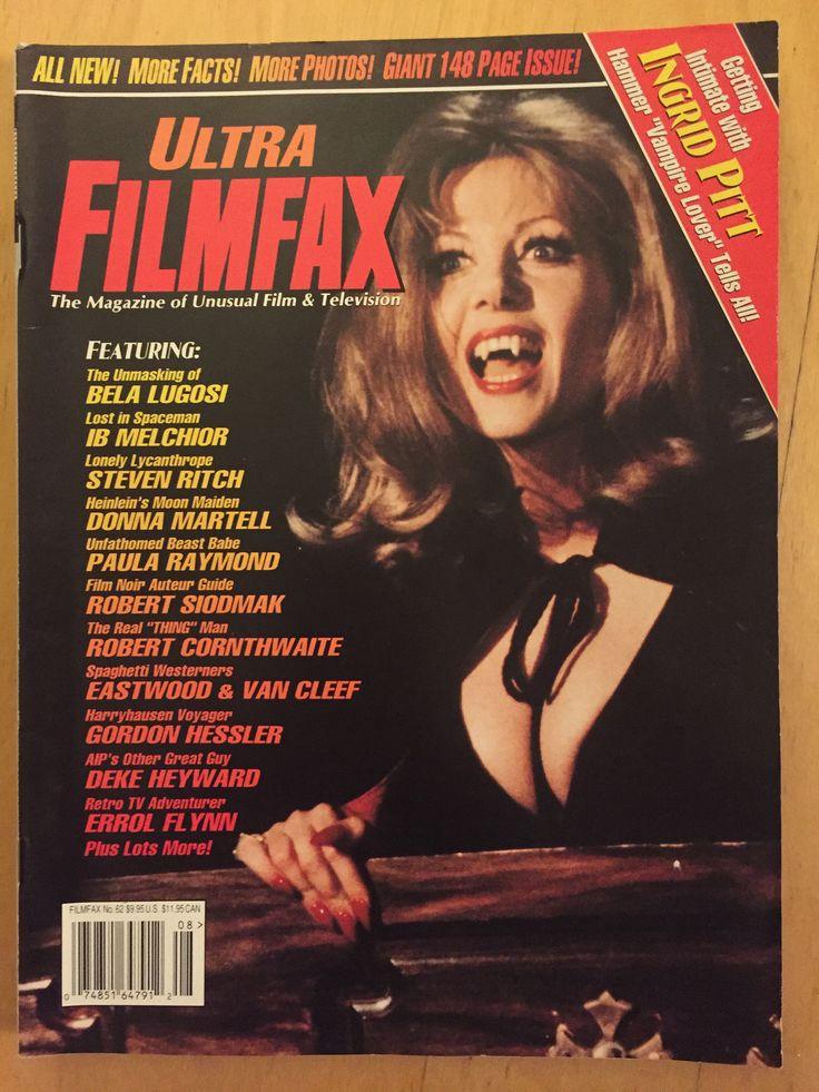 A personal favorite from my Etsy shop https://www.etsy.com/ca/listing/586714867/filmfax-magazine-augsept-1997-ingrid   #horrorfan #monstercollector #macabre #belalugosi #filmfax #ingridpitt #universalmonster #vampire #vampira #screamqueen #gorewhore #magazinecollector #retromagazine #vintagehorror #scarymovie #dracula #creepypasta #monstermania #ghoststories #frankenstein