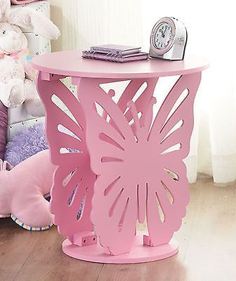 Furniture home decor Butterfly Shaped Tables End Table Bedroom decoration Pink