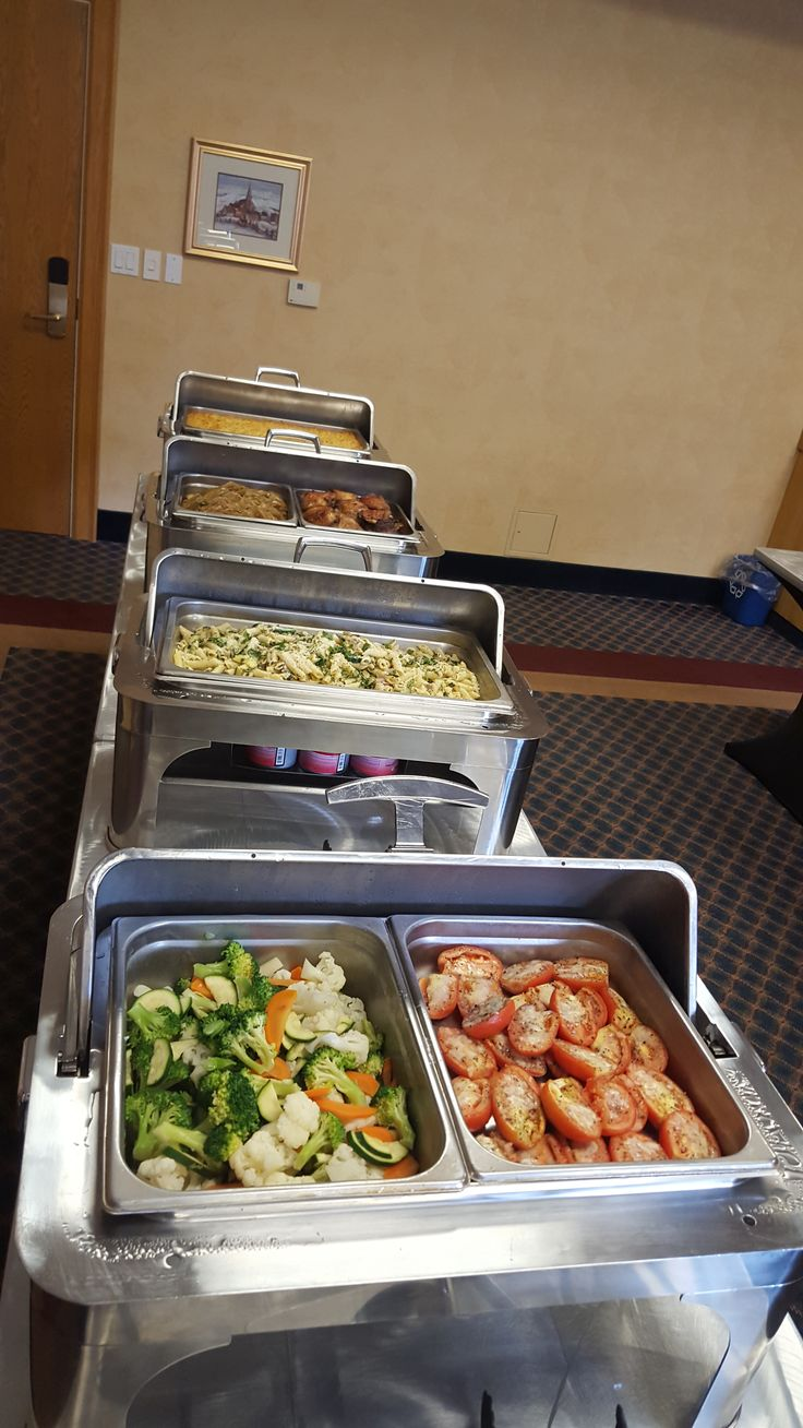 Lots of options at our Brunch Buffet!